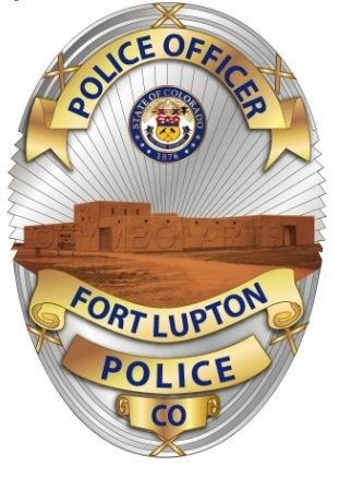 Updated Police Officer of Fort Lupton Badge