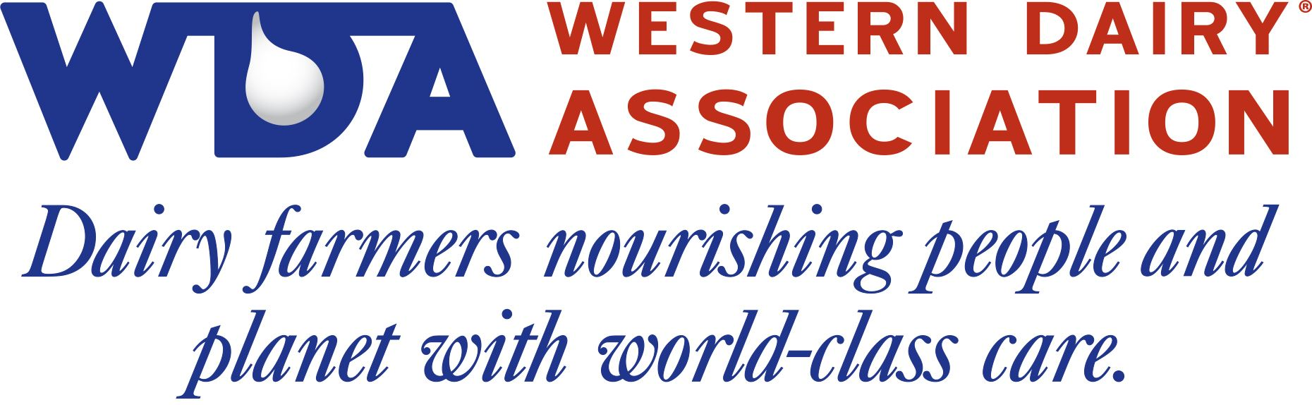 Western Dairy Association sign Dairy farmers nourisihing people and planet with world-class care