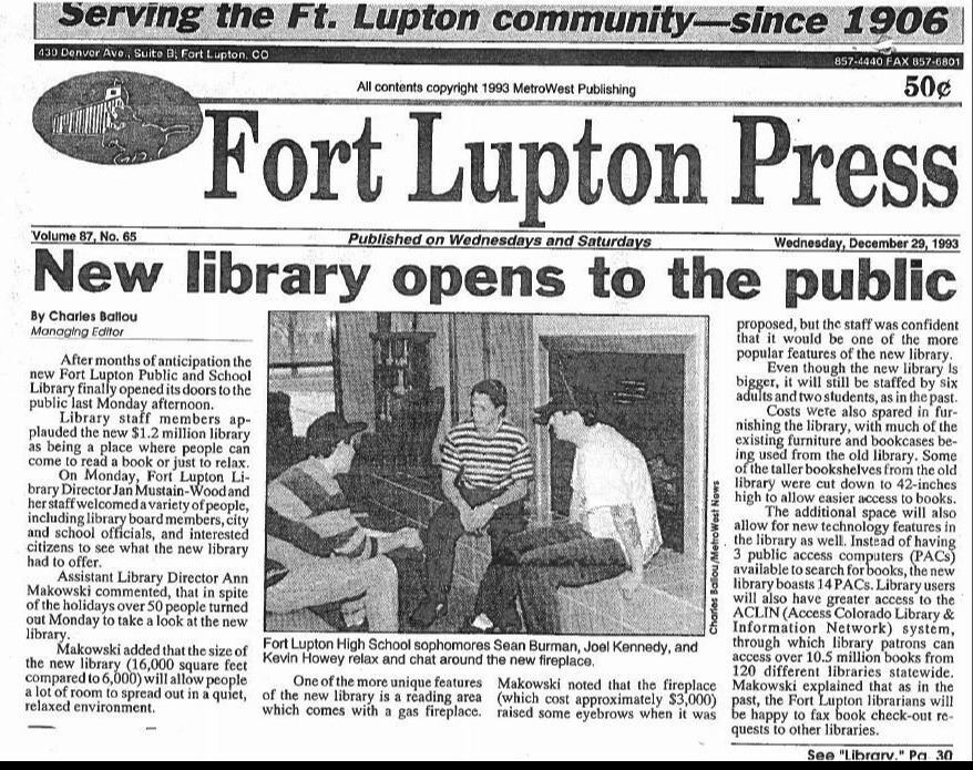 Expansion 1993