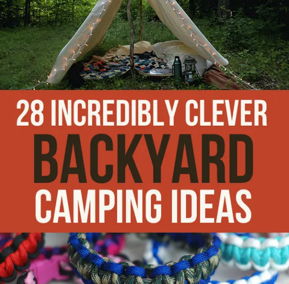 Backyard Camping Ideas Link Opens in new window